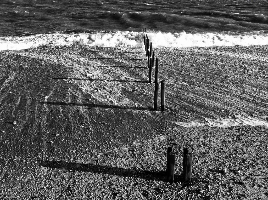 Groynes at Eastney Beach