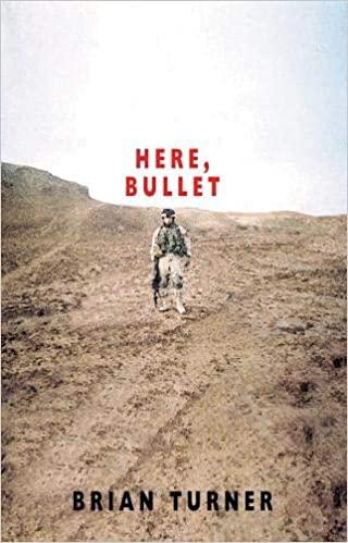 From my Poetry Bookshelf – Brian Turner – Here, Bullet