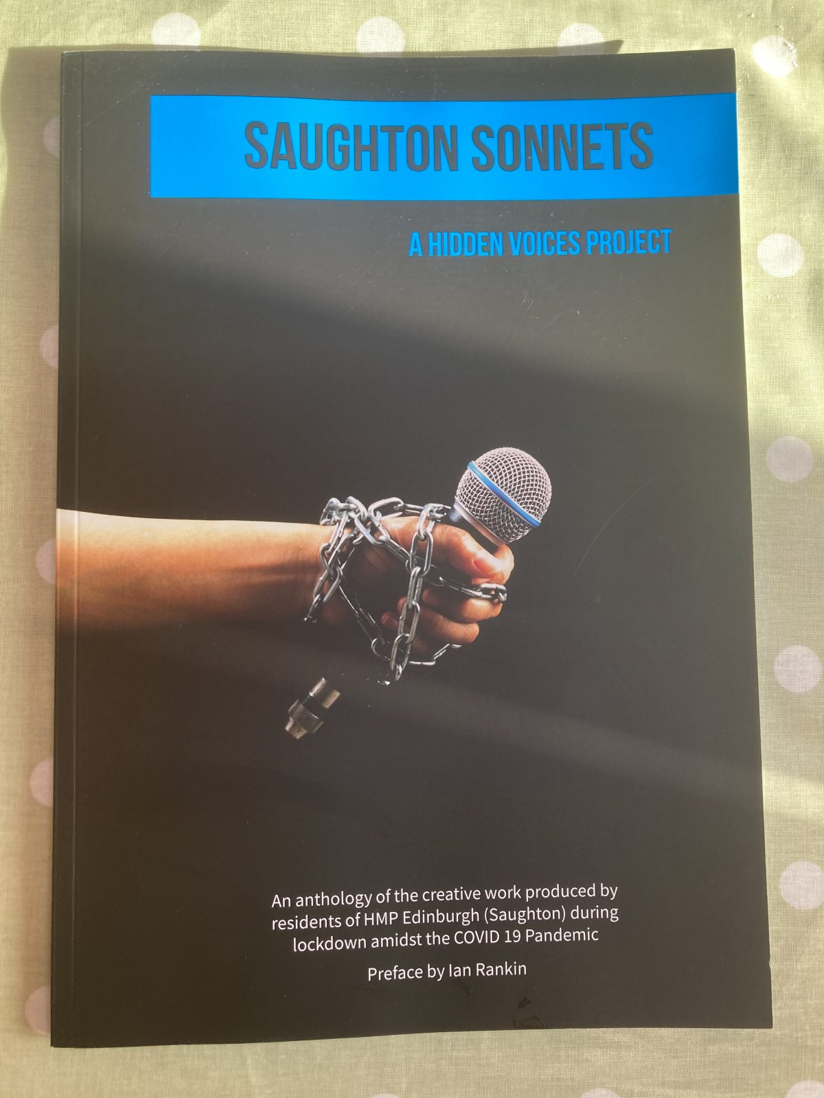 From my Poetry Bookshelf – Saughton Sonnets Anthology